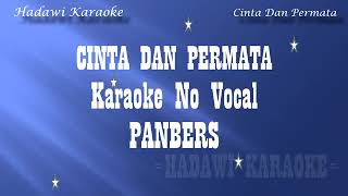 cinta dan permata lagu karaoke