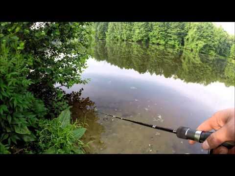 ловля щуки балансиром на мелководье видео