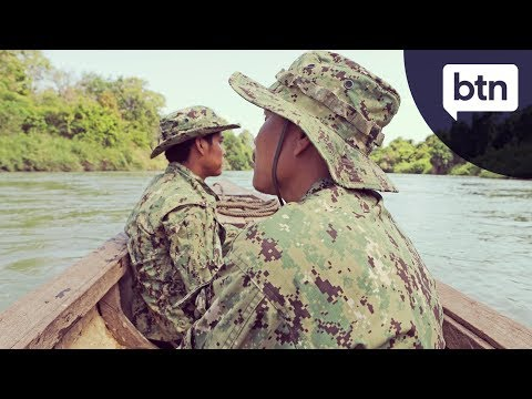 Cambodian Forest Rangers - Behind the News
