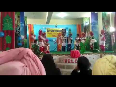 Bhangra of St. Paul convent school Rawan