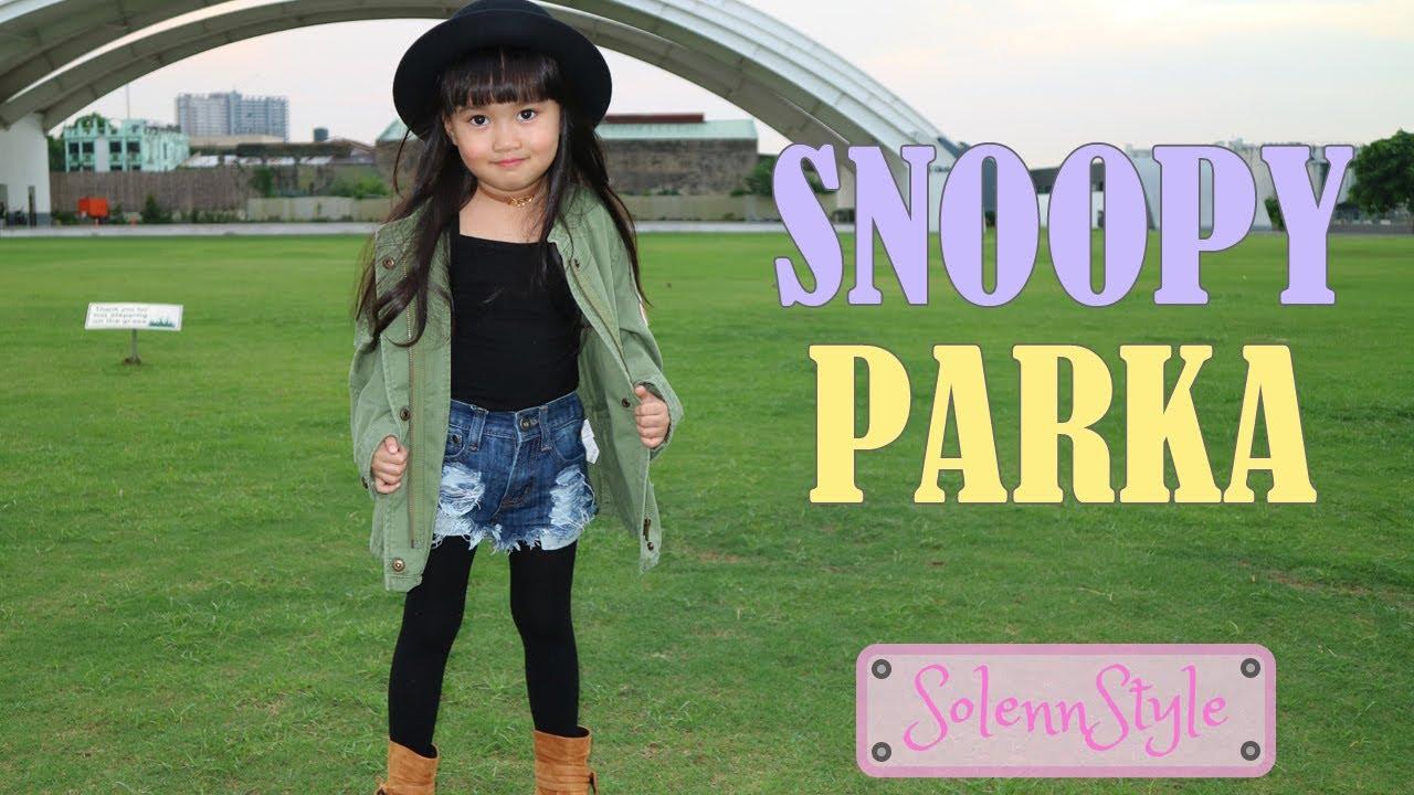 b21b7a634306 Solenn s OOTD  Snoopy Parka - Kids Fashion - YouTube
