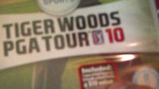 Tiger Woods PGA Tour 10 Unboxing
