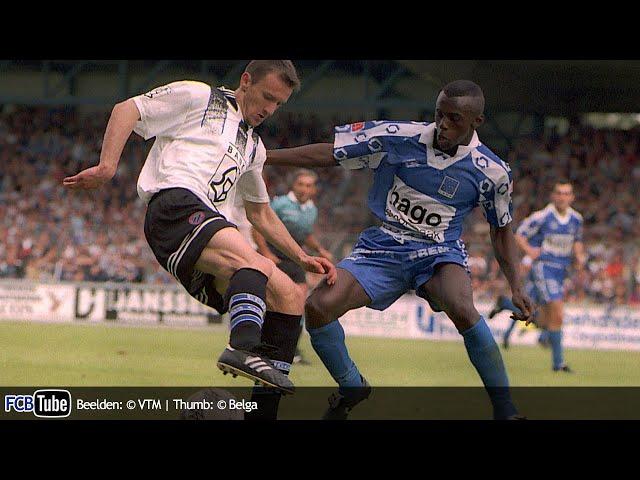 1996-1997 - Jupiler Pro League - 04. Racing Genk - Club Brugge 1-1