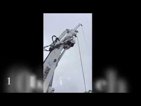 Hiab sea Crane 80