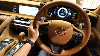 レクサス LC500h 内外装 | 2018 Lexus LC 500h