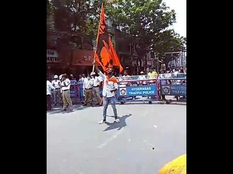 Daggad Sai Anna Brother On Hanumanjanyanthi  Shaikpet Praveen Mudhiraj...