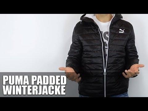 Puma Padded Jacket - Vorstellung - - YouTube : puma quilted jacket - Adamdwight.com