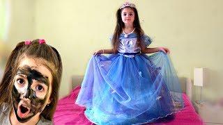 Masha a princess is going to the ball