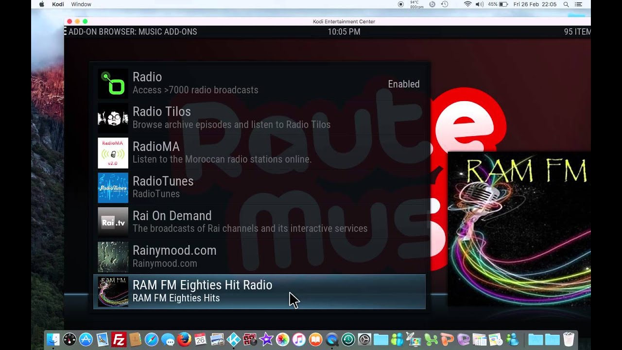 Best radio add on for kodi