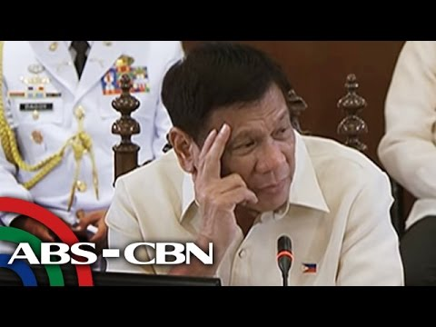 Duterte, tutol sa online gambling