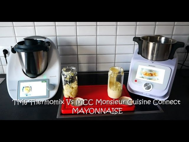 Battle mayonnaise mcc monsieur cuisine connect vs tm6 thermomix