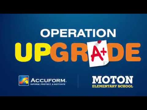 Operation Upgrade at Moton Elementary School - Before/After