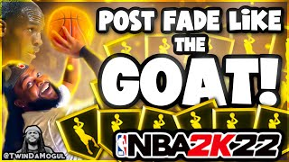 How To Post Fąde in NBA 2K22!