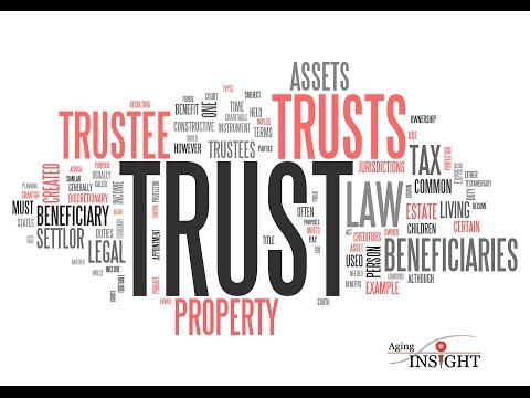 Aging Insight: Ep. 8 Nov 2013 - A Living Trust. What you need to know.