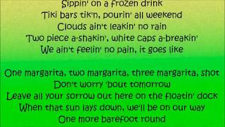 One Margarita - Luke Bryan Lyrics