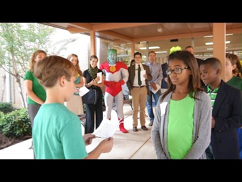 Big Shanty Recognized as Green Ribbon School