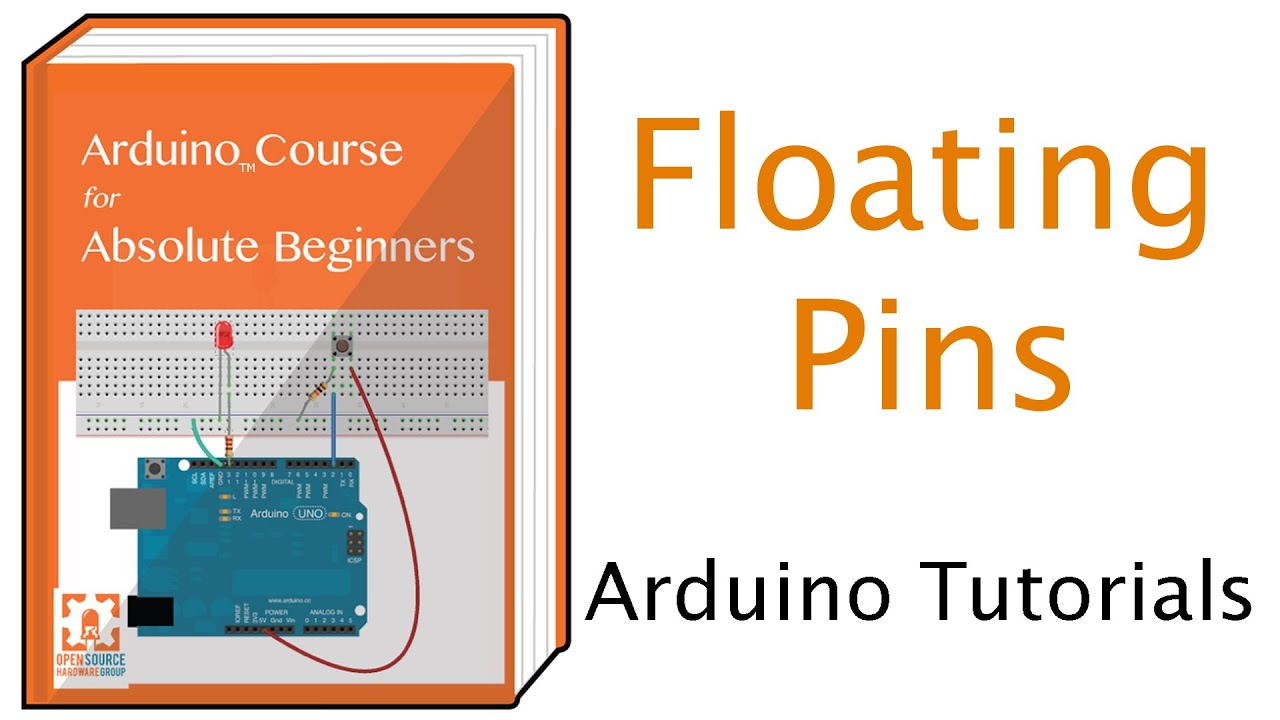 Floating pull up resistors and arduino youtube