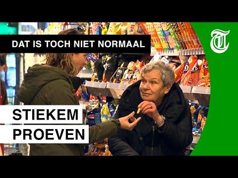 Vrouw eet én drinkt halve supermarkt leeg - DAT IS TOCH NIET NORMAAL? #05