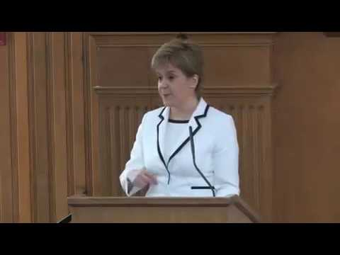 "Nicola Sturgeon at Stanford University: ""Scotland's Place in the World"""