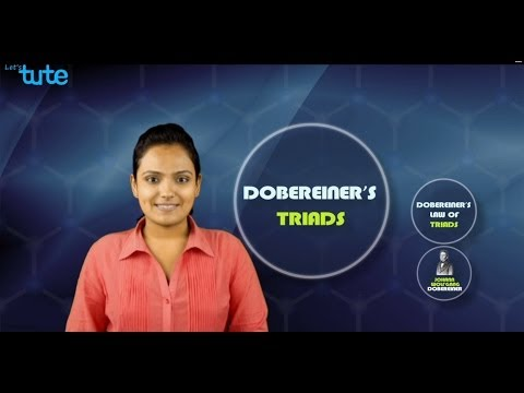 Dobereiner's Triads (Explanation Video) Grade 10 Science | LetsTute