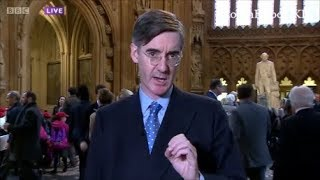 "Jacob Rees Mogg chancellor in waiting complains about ""eeyores"" in parliament"