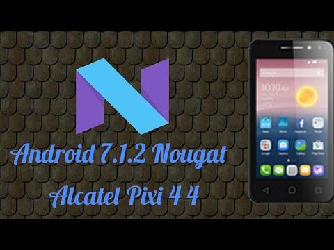Alcatel Pixi 4 4 Android Nougat 7 1 2