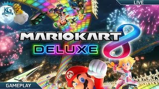 NINTENDO SWITCH GIVEAWAY! | MARIO KART 8 DELUXE! RACING WITH VIEWERS! | 1080p 60FPS!