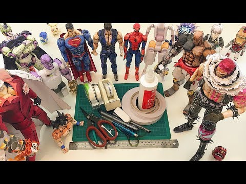 MATERIALS - What You Need To Make A PAPER Action Figure!
