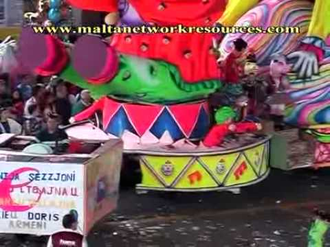 Streets of Valletta 6  Malta Carnival 2006 (dvd trailer)