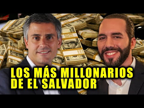Las 5 personas más millonarias de El Salvador