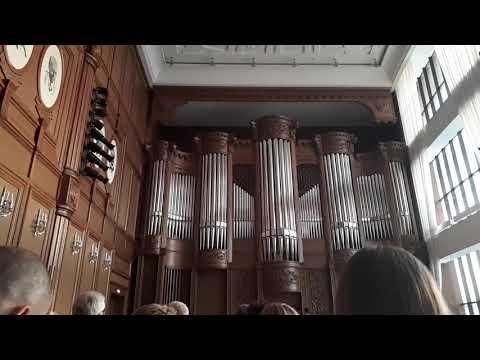 Игра на органе