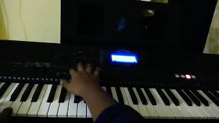 Oru Adar love movie song played on keyboard