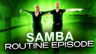 Samba Basic & Samba Advanced Routine   Ballroom Mastery TV