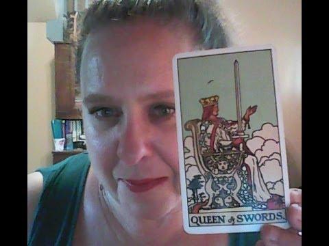 Tarot Tuesday #2: QUEEN OF SWORDS