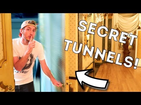 HIDDEN SECRET TUNNELS AT 5 STAR RESORT?! 🔦