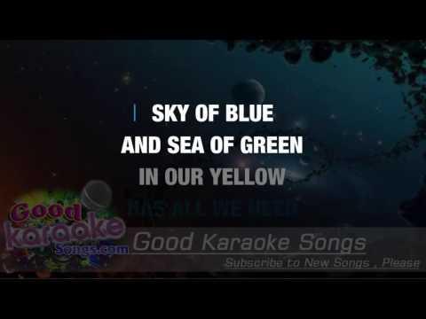 Yellow Submarine - The Beatles ( Karaoke Lyrics )