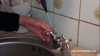 Ремонт смесителя на кухне своими руками(, 2012-12-17T21:11:11.000Z)