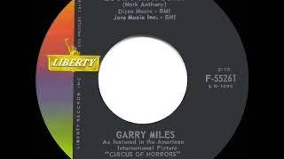 1960 HITS ARCHIVE: Look For A Star - Garry Miles