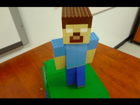 Lego Herobrine Minecraft Youtube