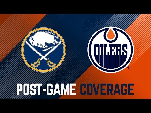 LIVE   Oilers Post-Game Interviews at Buffalo