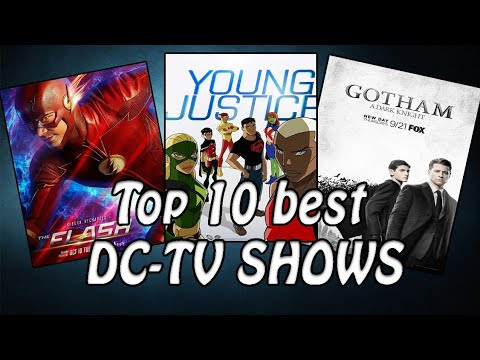 Top 10 best DC TV shows of all time