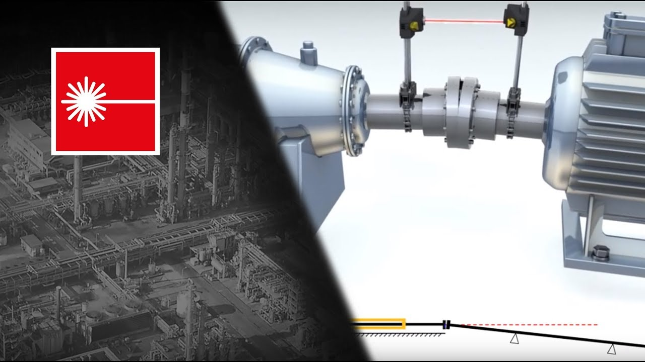 Benefits Of Laser Shaft Alignment By Pruftechnik Youtube