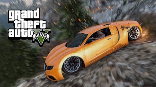 CAR CLIFF DIVING - GTA 5 Gameplay