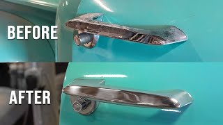 It's Probably Time to Refresh your Pickup's Door Handles.. (53-56 Ford Trucks)