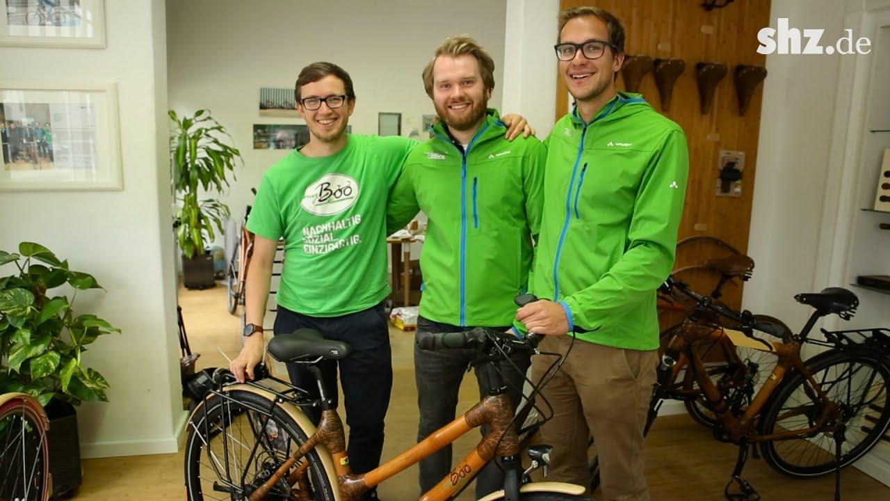 80 Stunden Handarbeit Fahrrader Aus Bambus In Kiel Youtube