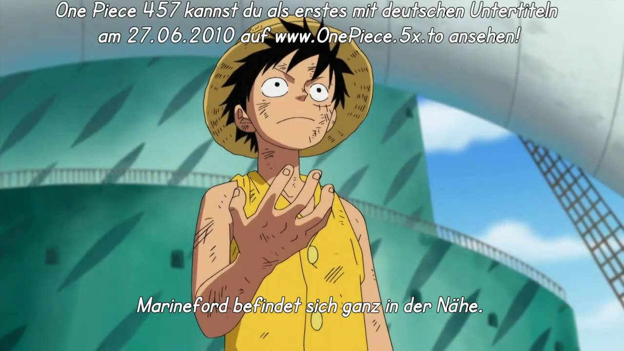 One Piece 457 Ger Sub Vorschau HD - YouTube