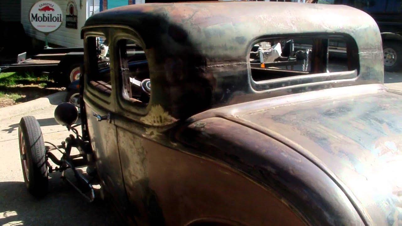 32 ford 5 window coupe flathead merc - YouTube