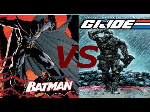 Batman Vs Snake Eyes