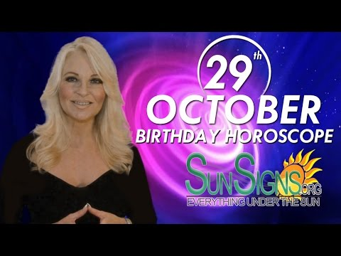 Birthday October 29th Horoscope Personality Zodiac Sign Scorpio Astrology