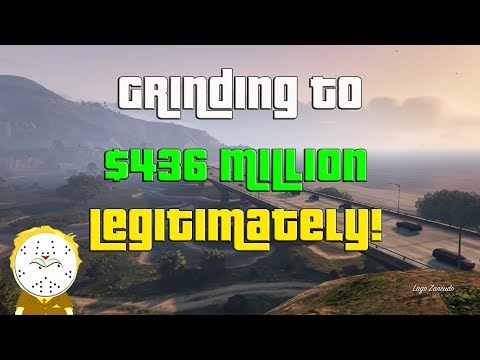 GTA Online Grinding to $436 Million Legitimately And Helping Subs